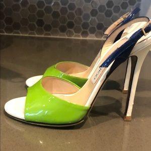 Jimmy Choo heels size 7 5inch high